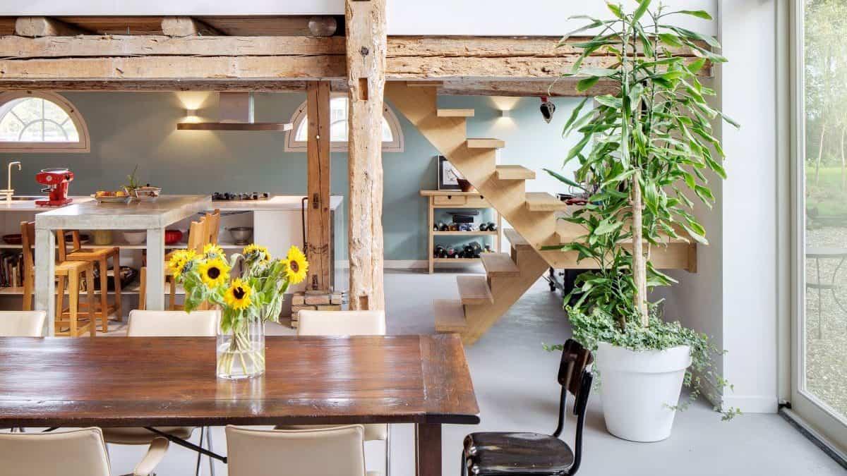 woonboerderij binnen richel lubbers architecten
