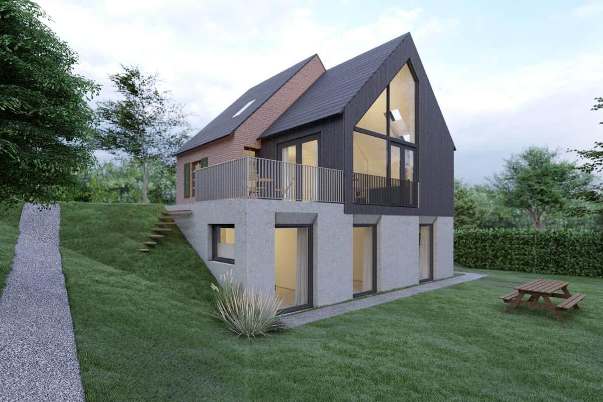 ontwerp woning amersfoort door richel lubbers architecten