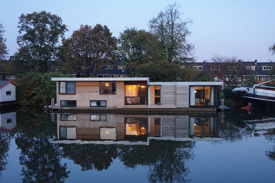 project woonboot richel lubbers architecten